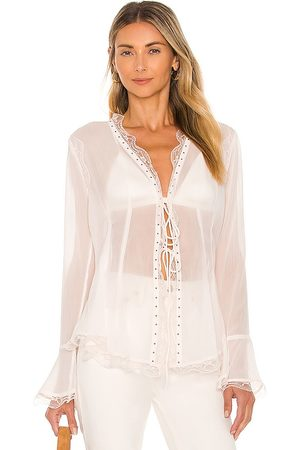 Free People Galaxy Studded Top in .