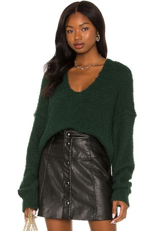 Free People Women Sweaters - Theo V Neck Sweater in .