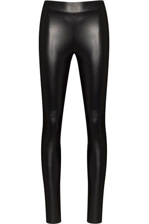 Wolford Women Leggings - Estella faux-leather leggings