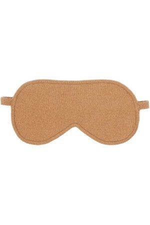 Falke Women Lingerie Accessories - Virgin Wool-blend Eye Mask - Womens - Camel