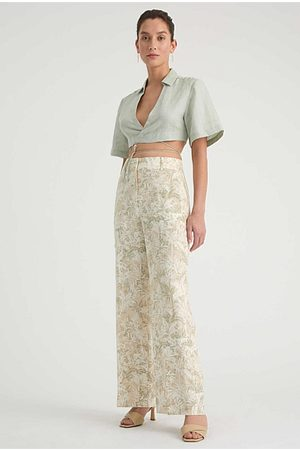 WITCHERY Women Jeans - Printed Linen Pant