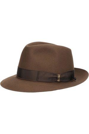 Borsalino Men Hats - Federico Beaver Medium Brim