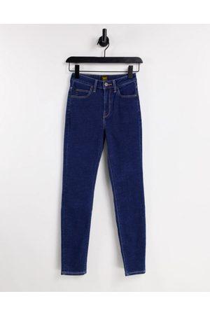 Lee Lee Scarlett high rise skinny jeans in dark wash