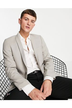 Twisted Tailor Hemmingway skinny suit jacket in -Neutral