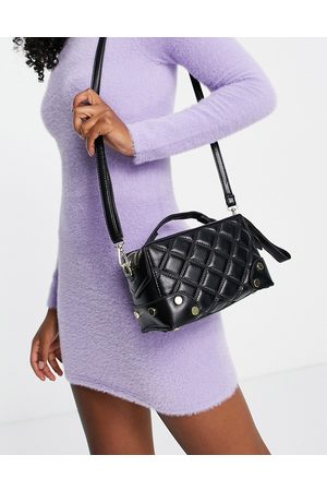Ego Structured boxy cross body bag in
