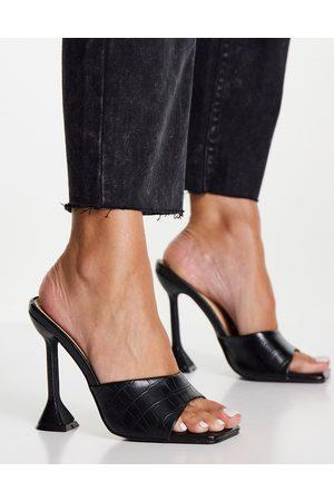 Glamorous Heel sandals with statement heel in -Neutral