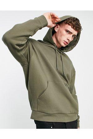ASOS Oversized hoodie in green