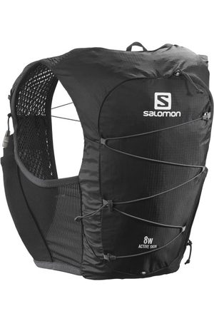 Salomon Women Sports Tops - Active Skin 8 Set - Womens Trail Running Vest With Flasks