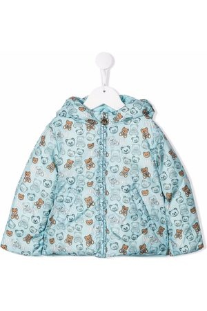 Moschino Teddy Bear-print padded jacket