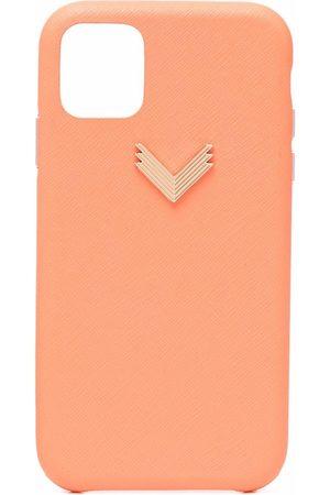 Manokhi X Velante chevron-plaque iPhone 11 case