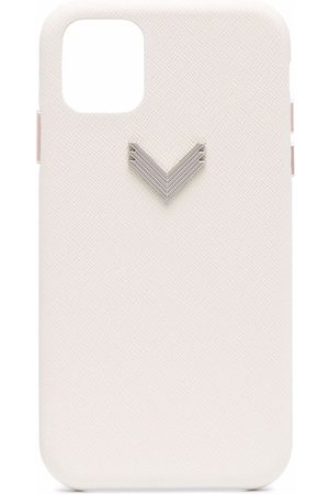 Manokhi X Velante logo-plaque iPhone 11 case
