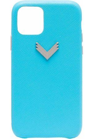 Manokhi X Velante logo-plaque iPhone 11 Pro case