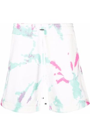 AMIRI Tie-dye drawstring shorts