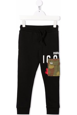 Dsquared2 Camo pocket trousers