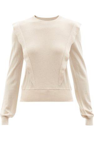 Chloé Ruffled Wool Sweater - Womens