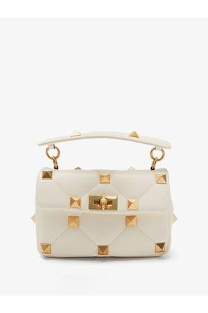 Valentino Garavani Women Shoulder Bags - Roman Stud Medium Leather Shoulder Bag - Womens