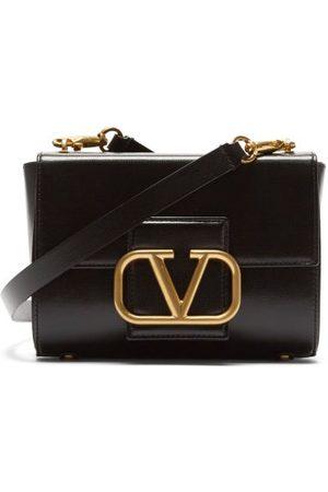 VALENTINO GARAVANI Women Shoulder Bags - Stud Sign Roman-stud Strap Leather Shoulder Bag - Womens