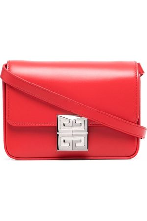 Givenchy 4g Small Leather Crossbody Bag- Woman- Uni