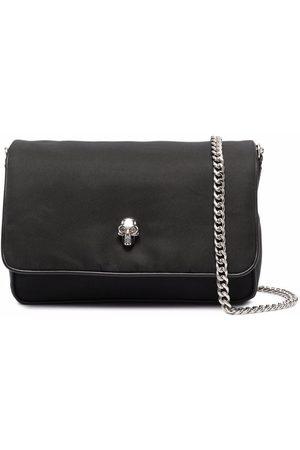 Alexander McQueen Skull Leather Small Shoulder Bag- Woman- Uni