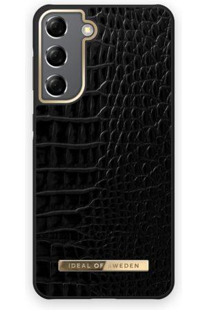 IDEAL OF SWEDEN Phone Cases - Atelier Case Galaxy S21 Neo Noir Croco