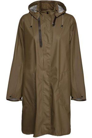 Ilse Jacobsen Women Raincoats - Light A-Line Raincoat Otter