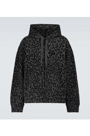 Dolce & Gabbana Leopard printed hooded sweatshirt