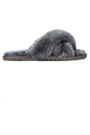 Emu Women Loungewear - EMU Mayberry Crossover Sheepskin Slipper Slide