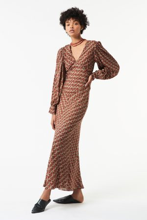 Antik Batik AW21 Mireille Printed Maxi Dress