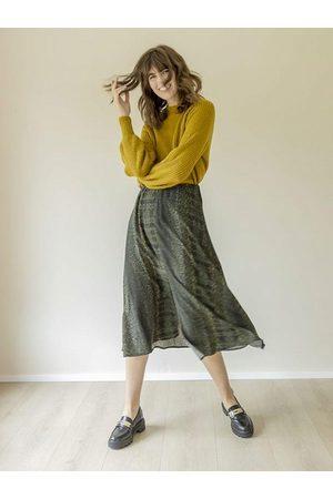 B YOUNG Women Midi Skirts - B Young ByFione Midi Skirt Beetle