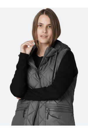 Ilse Jacobsen Women Winter Jackets - Dark Padded Gilet 10 AERIAL04 033