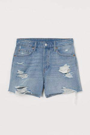 H&M Boyfriend High Waist Shorts