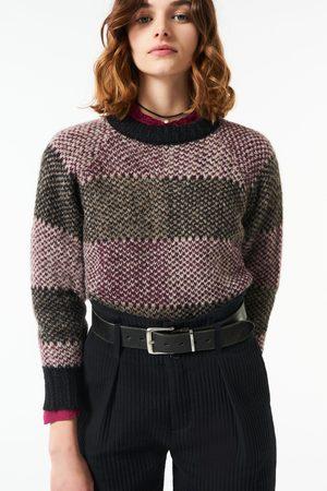 Antik Batik AW21 Arturo Alpaca Sweater Grey