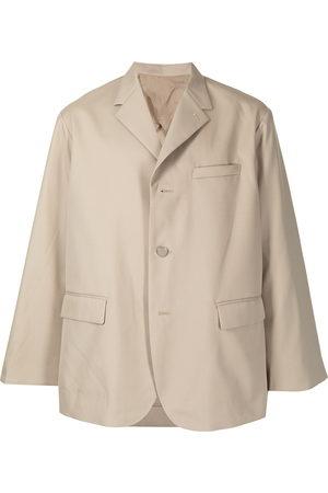Fumito Ganryu Men Blazers - Single-breasted boxy blazer