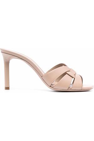 Saint Laurent Women Sandals - Tribute 85mm mule sandals