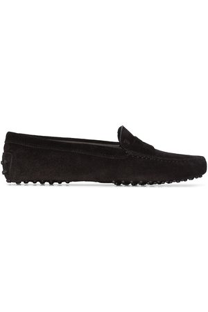 Tod's Moccasin suede loafers