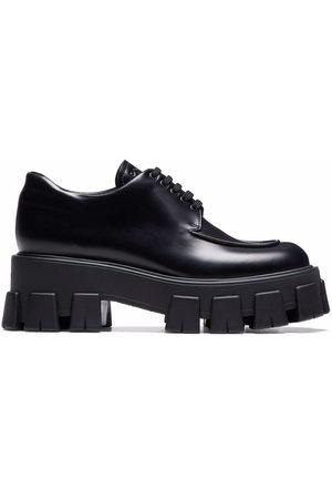 Prada Women Shoes - Monolith lace-up shoes