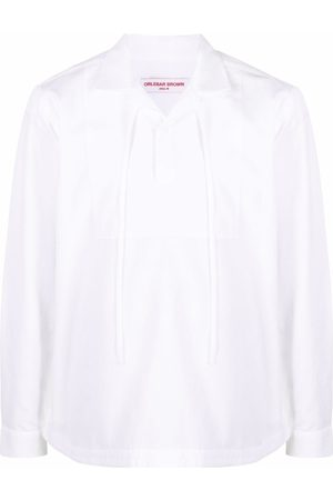 Orlebar Brown Shirts - Drawstring cotton shirt