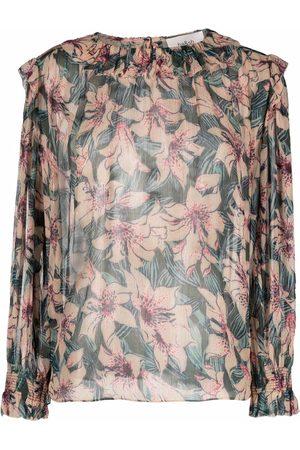 Bash Baia floral blouse