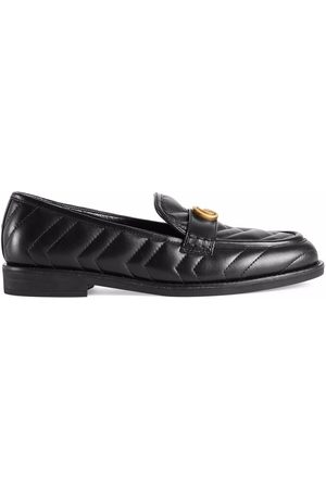 Gucci Women Loafers - Double G matelassé loafers
