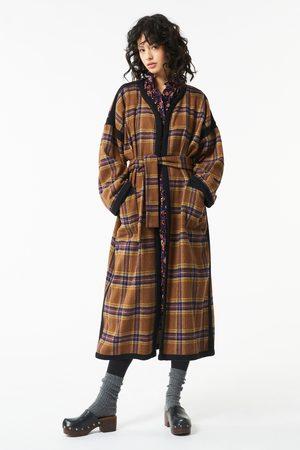 Antik Batik Women Coats - AW21 Haro Long Belted Coat