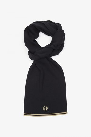 Fred Perry Men Scarves - Fred Perry Twin Tipped Merino Scarf