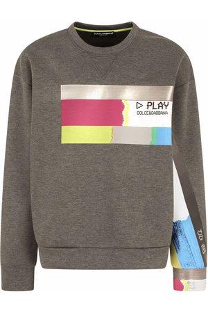 Dolce & Gabbana Graphic-print cotton sweatshirt