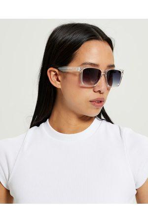 Le Specs Le Sustain Mr Bomplastic Sunglasses Pweter Cool Smoke Grad