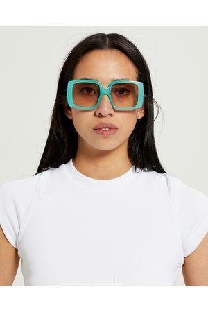 Le Specs Women Sunglasses - Glo Getter Ltd Edt Sunglasses Aqua Ocean