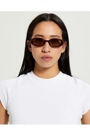 Le Specs Women Sunglasses - Outta Love Ltd Edt Sunglasses Sangria Mocha Tint