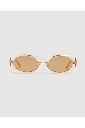 Le Specs Women Sunglasses - Work It! Sunglasses Nougat Tan