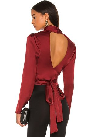 L'Academie Women Blouses - The Suzanne Top in .