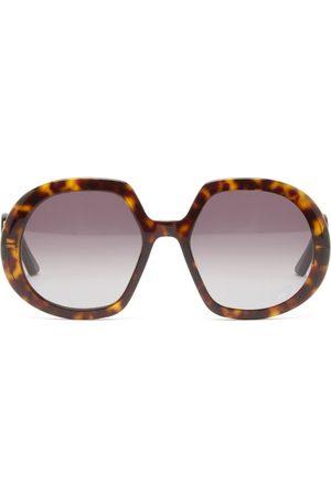 Dior Bobby R1u Butterfly Acetate Sunglasses - Womens