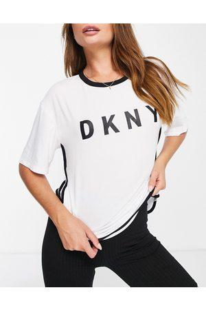 DKNY Sleepwear logo T-shirt in