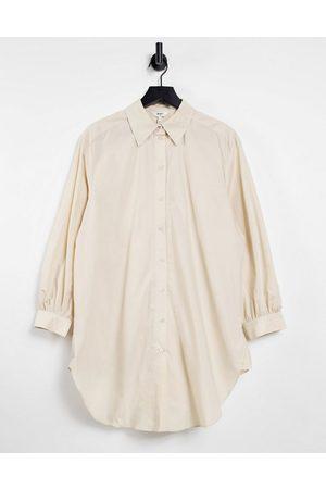 Object Longline shirt in -White